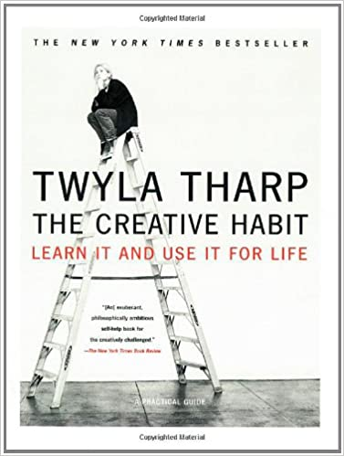 Book Cover - The Creative Habit by Twyla Tharp