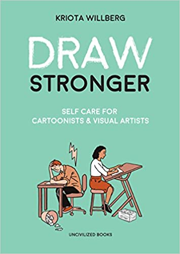 Book Cover - Draw Stronger by Kriota Willberg