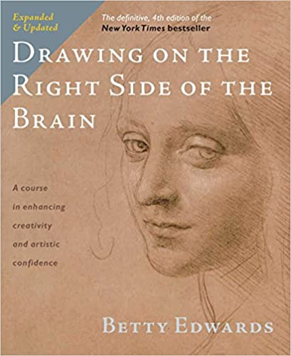 Book Cover - Drawing on the Right Side of the Brain - Betty Edwards