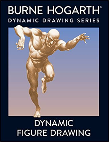 Book Cover - Dynamic Figure Drawing by Burne Hogarth