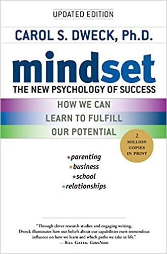 Book Cover - Mindset by Carol S. Dweck