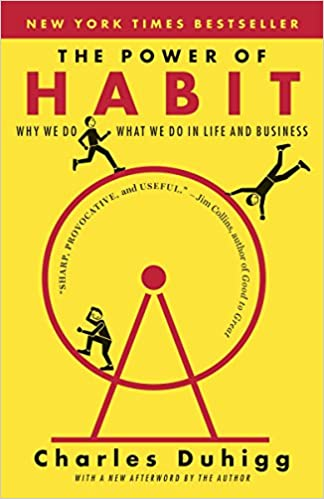 Book Cover - The Power of Habit by Charles Duhigg