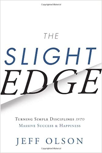Book Cover - The Slight Edge by Jeff Olson